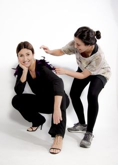 Auténtica simbiosis entre la diseñadora y la modelo. Dos mujeres atrevidas 1bce2f375f2