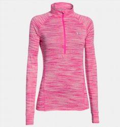24.98$  Buy now - http://viiyu.justgood.pw/vig/item.php?t=bvgjfx34951 - Under Armour Tech Space Dye 1/4 Zip Women's Long Sleeve Shirt ~ Pink