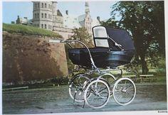Itkin 1966 Det Kgl. Bibliotek Småtryksamlingen Vintage Stroller, Vintage Pram, Prams And Pushchairs, Baby Prams, Baby Carriage, Kids And Parenting, Baby Strollers, Retro, Barn