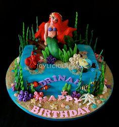 The Little Mermaid - by Joyliciouscakes @ CakesDecor.com - cake decorating website