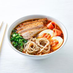Soothing Pork Belly Ramen With Noodles