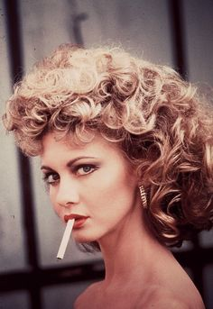 Olivia Newton-John --grease.... the memories of girl's slumber parties and acting out the roles and singing those great song!
