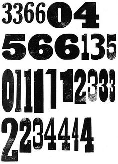 Wood Type Impressions 2 is agigantic collection of wood type letters, numbers and ornaments.