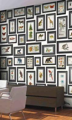 Accumulation de tableaux - Accrochage de tableaux : 20 idées pour organiser ses cadres au mur - CôtéMaison.fr