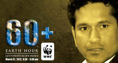 Saturday of March, : Earth Hour Uniting People To Protect The Planet, Switch off all use of energy for 60 minutes. (and check out the How To guides to see how your school, community, church or bar can join in) Our Planet, Save The Planet, Earth Hour, Sachin Tendulkar, School Community, People Around The World, Worlds Largest, Planets, Join