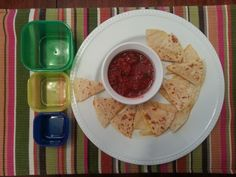 Cheese Quesadilla with Fresh Tomato Salsa: http://kendrafletcherfitness.com/2015/02/11/cheese-quesadilla-with-fresh-tomato-salsa/