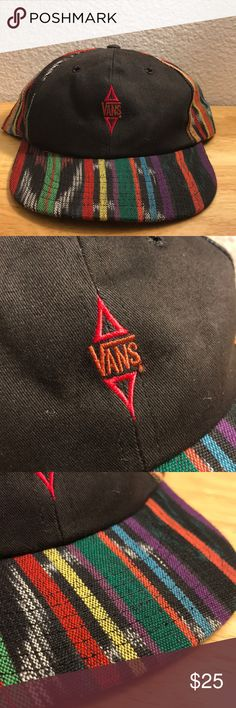71a01622fb1 Vintage Vans Made In USA Hat Vintage Vans Made In USA Hat