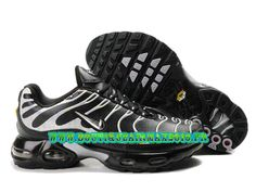 quality design 97f8b 38a5c Nike Air Max TN Running Chaussure Pas Cher Homme Noir Blanc Nike Air Max Tn