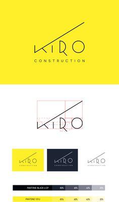KIRO Construction Corp. ID Proposal #1 on Behance More