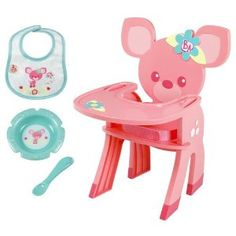 Baby Alive Snack Time Highchair