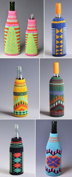 Bottle cozies from Bottle Freaker