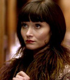 """Pheathers For Phryne ~ Phryne Fisher (Essie Davis) ~ Miss Fisher's Murder Mysteries ~ """"Murder On The Ballarat Train"""" ~ Season 1 Episode 2"""
