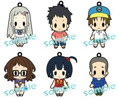 AmiAmi [Character & Hobby Shop] | AnoHana - Rubber Strap Collection Vol.2 BOX(Released)
