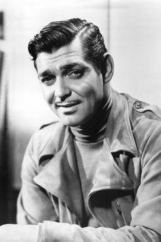 El #bigote del actor estadounidnese Clark Gable, Aventurero, cínico y un poco canalla. Perfectamente recortado con forma de 'V' invertida #moustache