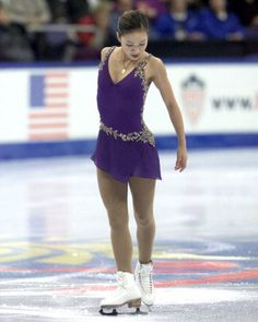 Michelle Kwan  -Purple/Lilac Figure Skating / Ice Skating dress inspiration for Sk8 Gr8 Designs.
