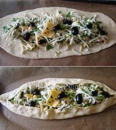 Lebanese Recipes, Turkish Recipes, Baked Chicken Recipes, Pizza Recipes, Turkish Cheese, Healthy Dishes, Healthy Recipes, Healthy Food, Pizza Heaven