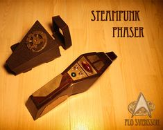 Star Trek goes steampunk with this tricorder and phaser