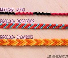 bracelets brésiliens basiques