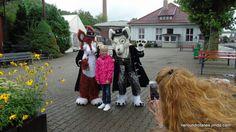 Nero und Rotanes im Eisenbahnmuseum Bochum-Dahlhausen am Kindertag 2015