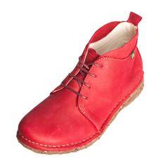 El Naturalista Women Desert Rioja Ladies Womens Shoe Boot Bordo N974.    Genuine El Naturalista Shoe in great price!    Upper: Leather  Lining: Leather