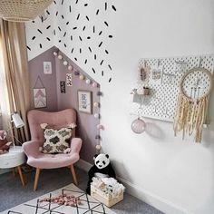Georgia room x Box Room Nursery, Box Bedroom, Bedroom Wall, Girl Nursery, Girl Room, Bedroom Decor, Girls Bedroom Storage, Bedroom Ideas, Bedroom Girls