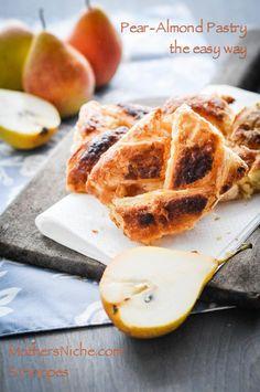 Easy Pear-Almond Danish Recipe