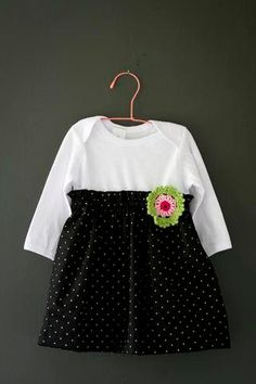 Adorable and affordable Baby Girl Onesie-Dress!! So cute for XMas!