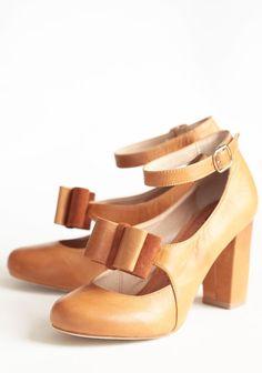 Kate Bow Heels . Modern Vintage Shoes  elfsacks