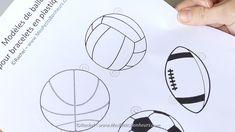 modeles ballons sport pour bracelets