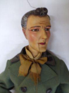 """""""Chucho, el roto""""  Marioneta de Carlos Espinal c. 1905 Colección de Tito y Tita."""