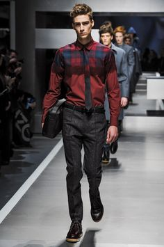 Fendi Fall 2013 Menswear Collection Slideshow on Style.com