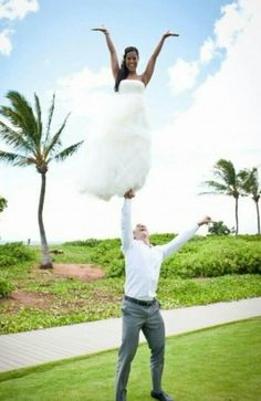 Porrista boda