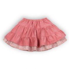 50% OFF! Troizenfants Baby Girl Fashion Skirt in Pink - Designer: Troizenfants