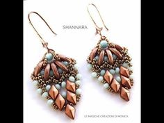 Tutorial degli orecchini Shannara - YouTube