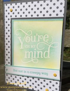Stampin Up That thing you did TGIFCPPA-001