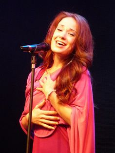 Sierra Boggess - she is actually perfect. She's gorgeous, she sings, she's hilarious... I could go on