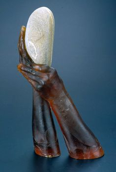 """Rock"" JOHN Littleton & KATE Vogel Exhibiting members in Glass"