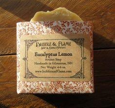 Eucalyptus Lemon: Eucalyptus  Lemon  by BubbleandFlameNH on Etsy