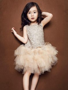 Glamour Girl dress for toddlers from Little Trendsetter. Such a fashionable, trendy and unique dress for any special occasion or for a toddler flower girl! #fashionkids #littletrendsetter #flowergirl