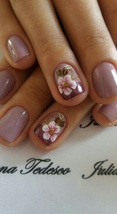 Simple Nail Art Trends 2018