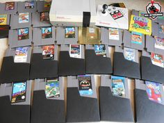 Nintendo - NES : The Legend of Zelda, super Mario Bros, Mega Man, Dragon Ball, Batman, Totally Rad, Blue Shadow, TMNT, Hogan's Alley, ExciteBike, Clu Clu Land