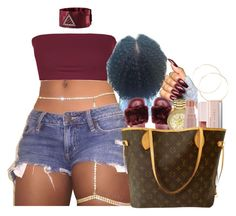 A fashion look from October 2017 featuring purple top, flat shoes and tote purses. Browse and shop related looks. Swag Outfits For Girls, Boujee Outfits, Cute Swag Outfits, Teen Fashion Outfits, Teenager Outfits, Dope Outfits, Girl Fashion, Summer Outfits, Casual Outfits