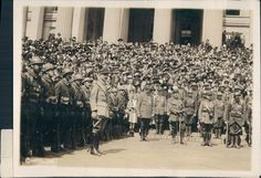 1918 Photo French Foreign Legion Liberty Loan Maurice De Gary Commander Rare