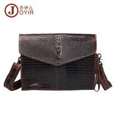 Men Crazy Horse Leather Laptop Briefcase Portfolio Messenger Shoulder  Travel Bag 907544c615