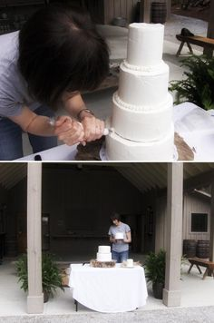 DIY wedding cake- 5 things brides should know (especially this: you may not actually be saving any money in the long term)