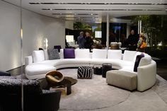 See the latest from leading Brands, Architects, Designers and Art Directors Sofa Design, Interior Design, Design Trends, Architects, Sofas, Conference Room, Designers, Couch, Table