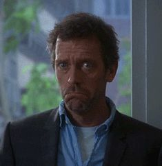 Gregory House (Hugh Laurie) nods his head up and down with a frown on his face during an episode of House. Hugh Laurie, House Md, Funny Text Fails, Funny Texts, Funny Gifs, Funniest Gifs, Anim Gif, Everybody Lies, Gregory House