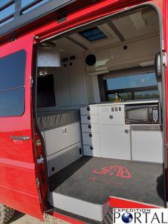 Sprinter Van Sleeper Conversions   Four Winds Ventura ...