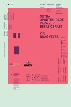 Outra oportunidade para ver essas obras? Vir duas vezes. (Prata para campanha) | Clube de Criação de São Paulo
