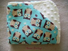 Baby Blanket Baby Boy Blanket Baby Girl Blanket by SweetStarlings, $35.00
